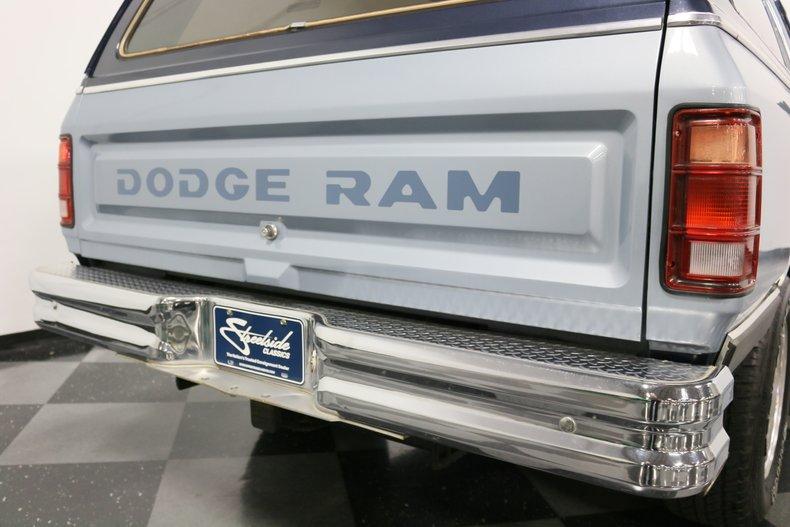 1989 Dodge Ramcharger 32