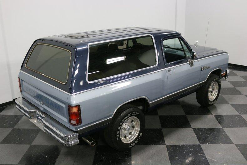 1989 Dodge Ramcharger 30