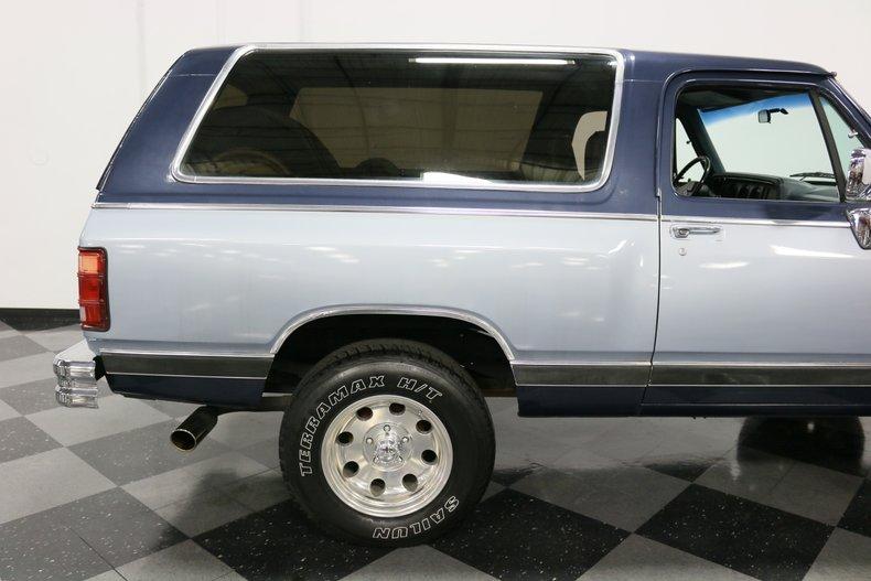 1989 Dodge Ramcharger 35