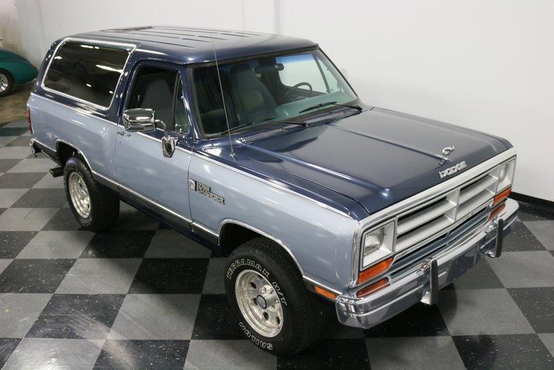 1989 Dodge Ramcharger 73