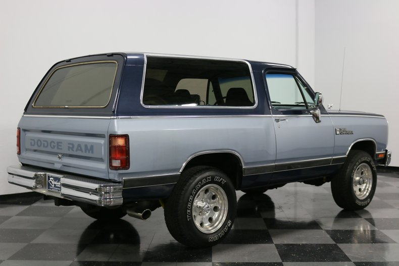 1989 Dodge Ramcharger 13
