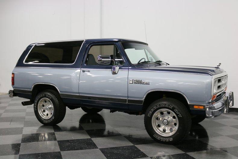 1989 Dodge Ramcharger 16