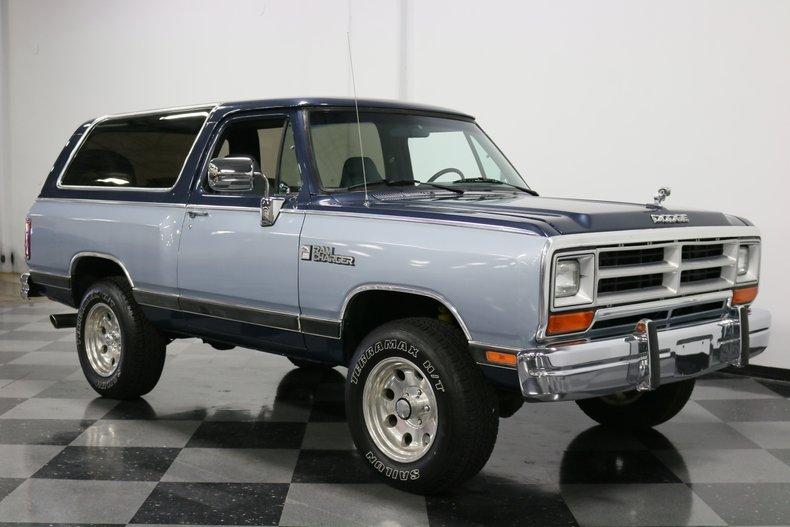 1989 Dodge Ramcharger 17