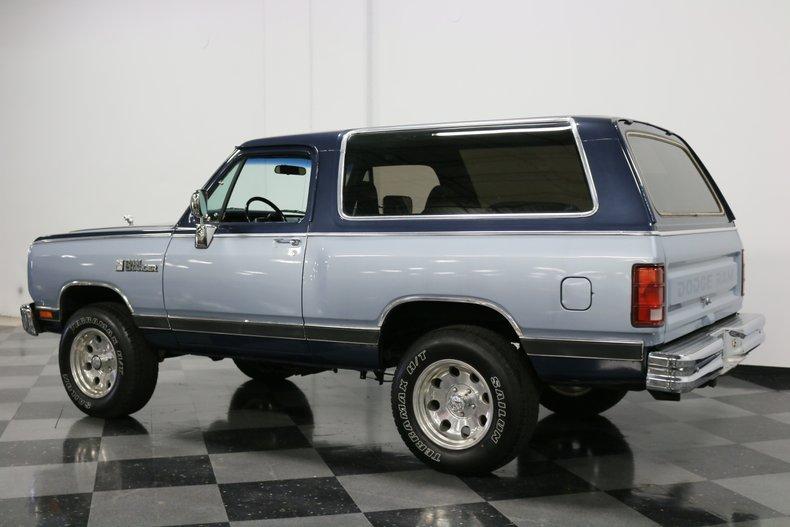 1989 Dodge Ramcharger 8