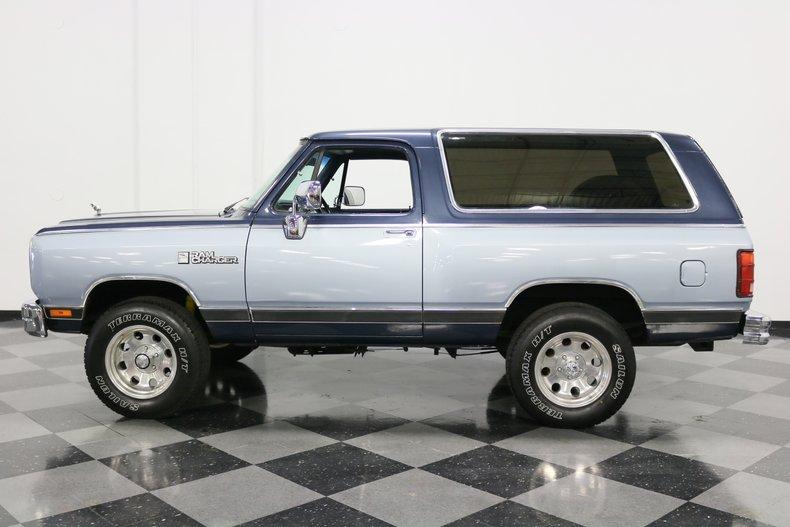 1989 Dodge Ramcharger 2
