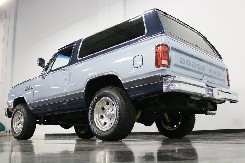 1989 Dodge Ramcharger 29