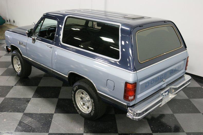 1989 Dodge Ramcharger 74