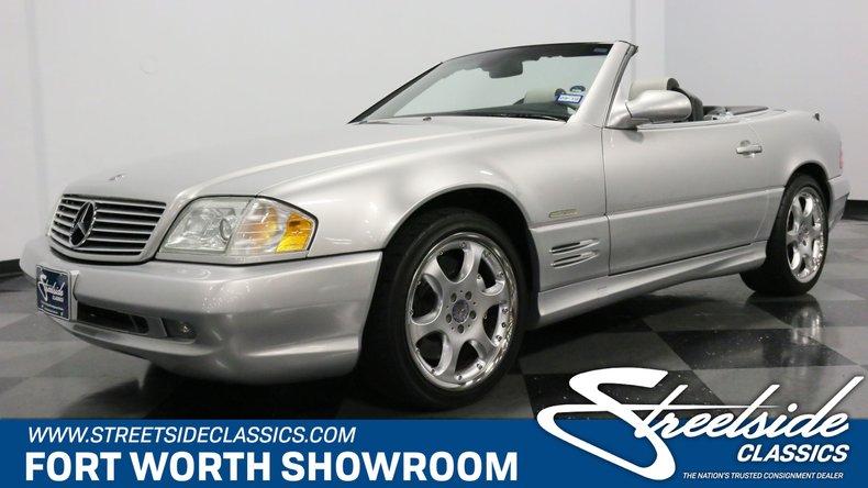 2002 Mercedes-Benz SL500 For Sale