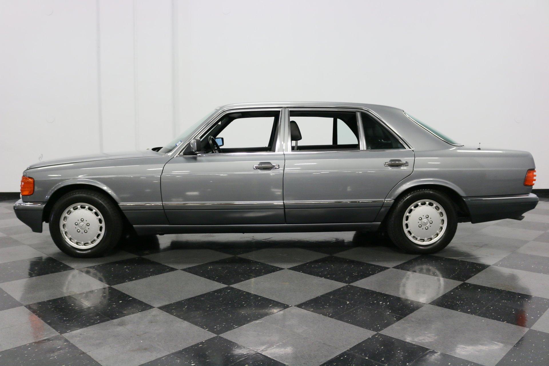 1989 mercedes benz 500sel euro