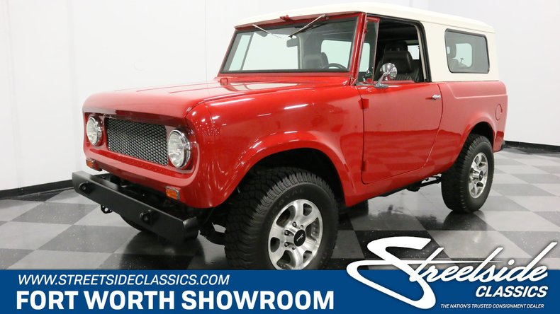 For Sale: 1962 International Scout