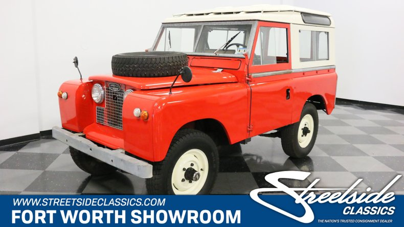 For Sale: 1965 Land Rover Series IIA