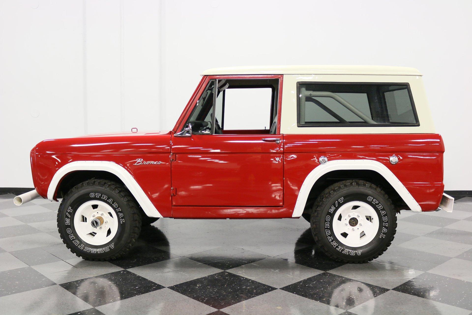 1968 ford bronco 4x4
