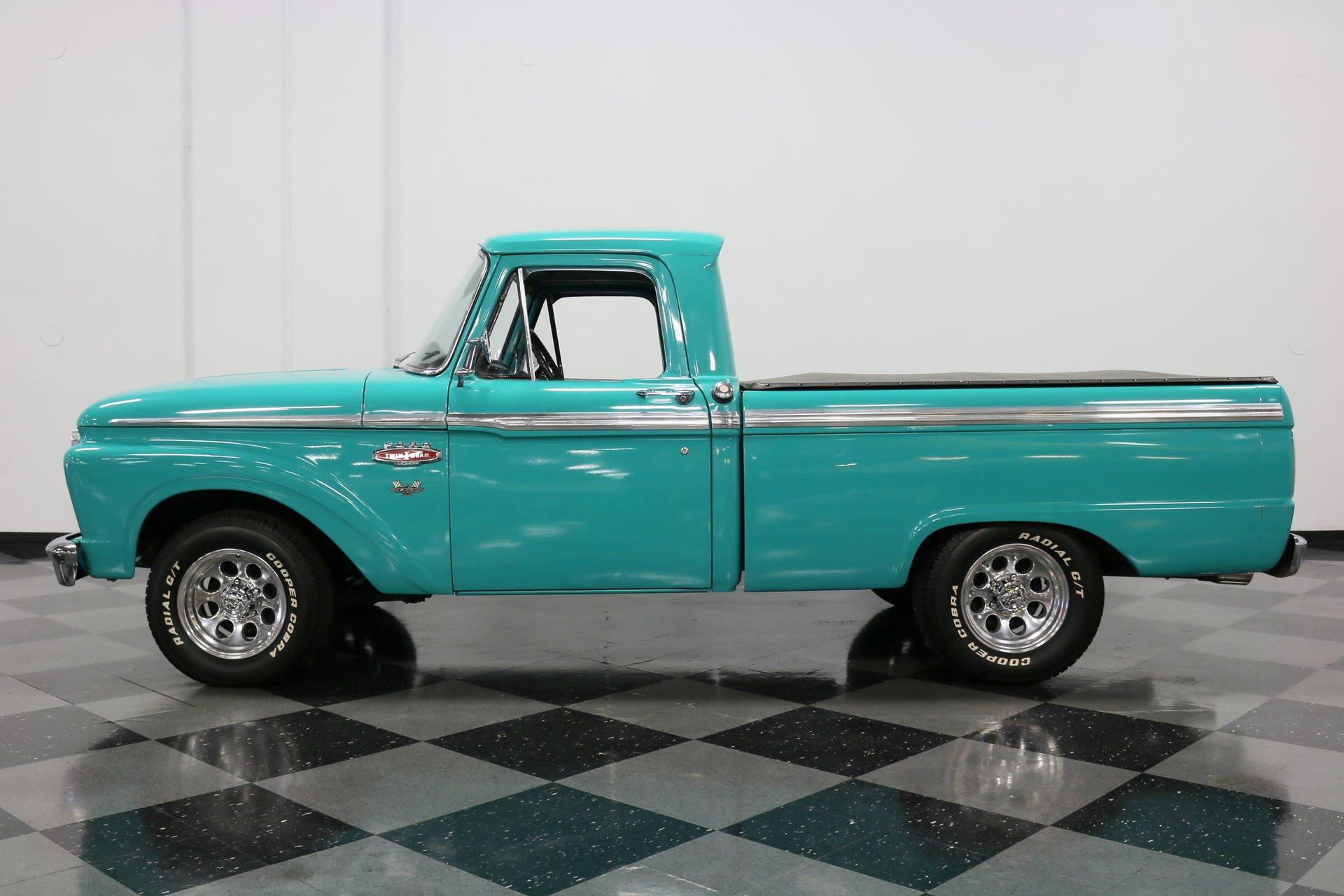 1966 ford f 100 custom cab