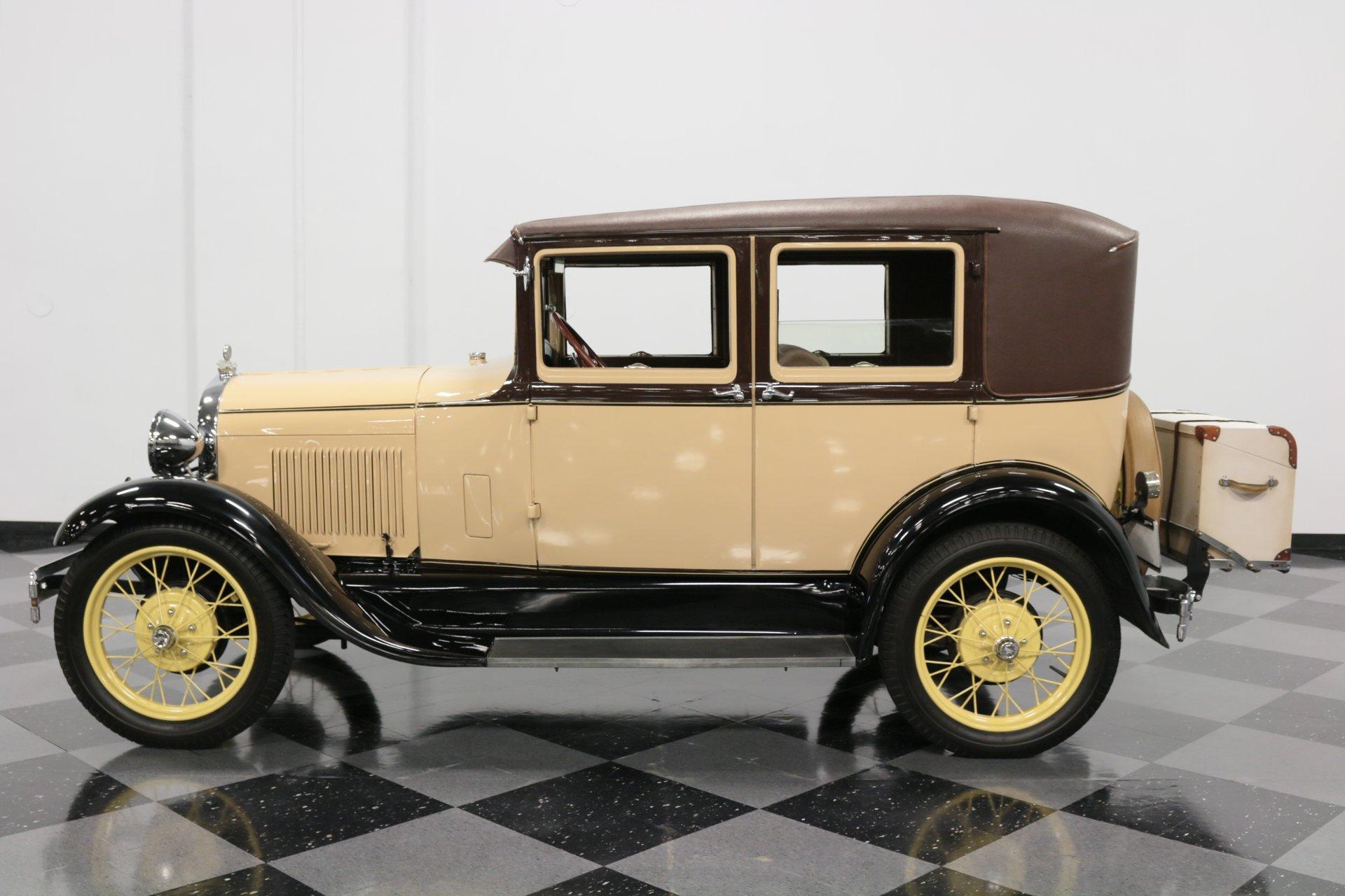 1928 ford model a sedan