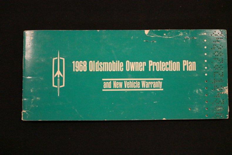 1968 Oldsmobile Cutlass 69