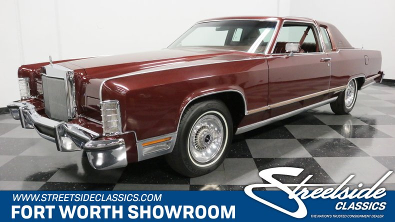 For Sale: 1978 Lincoln Town Coupe