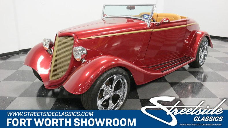 1934 Ford Cabriolet 1