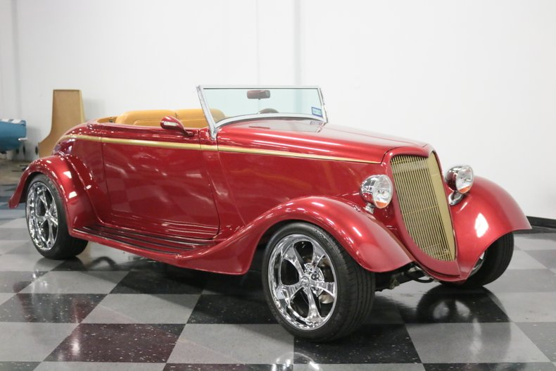 1934 Ford Cabriolet 17