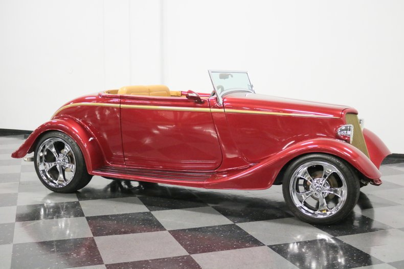 1934 Ford Cabriolet 16