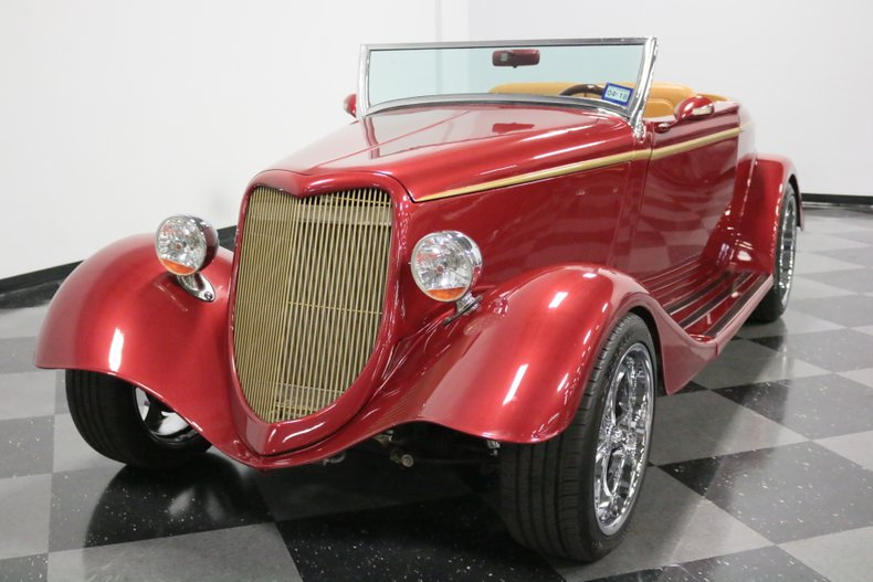 1934 Ford Cabriolet 20