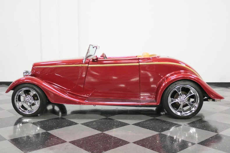 1934 Ford Cabriolet 7