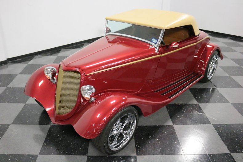 1934 Ford Cabriolet 22