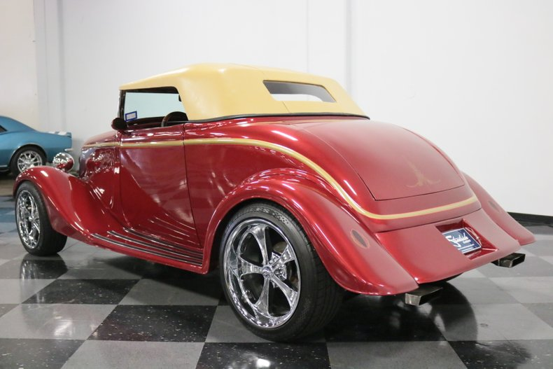 1934 Ford Cabriolet 25
