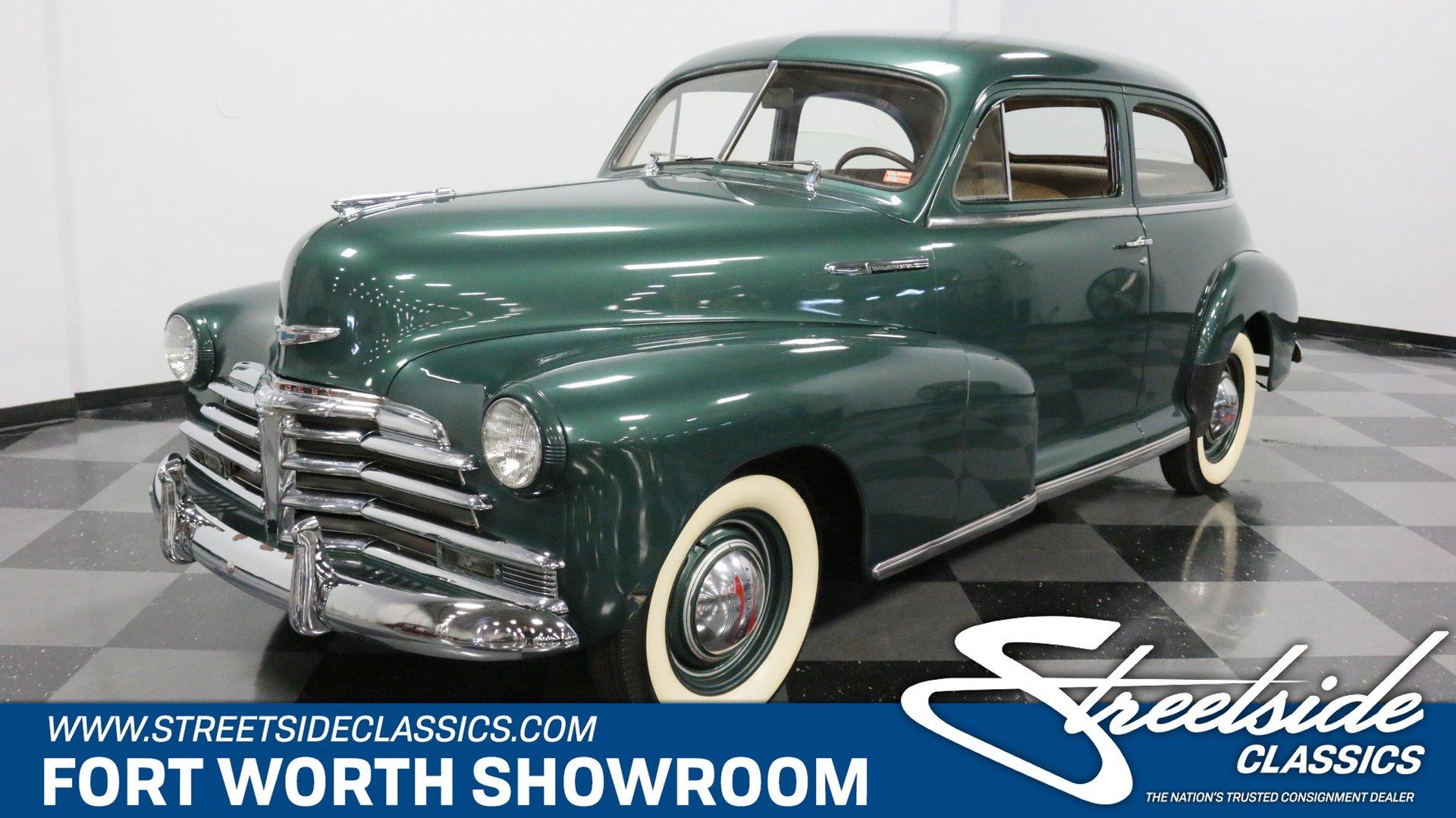 1948 Chevrolet Stylemaster 2 Door Sedan For Sale 168818