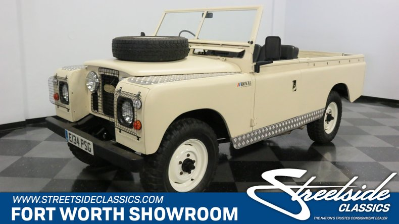 For Sale: 1967 Land Rover Series IIA