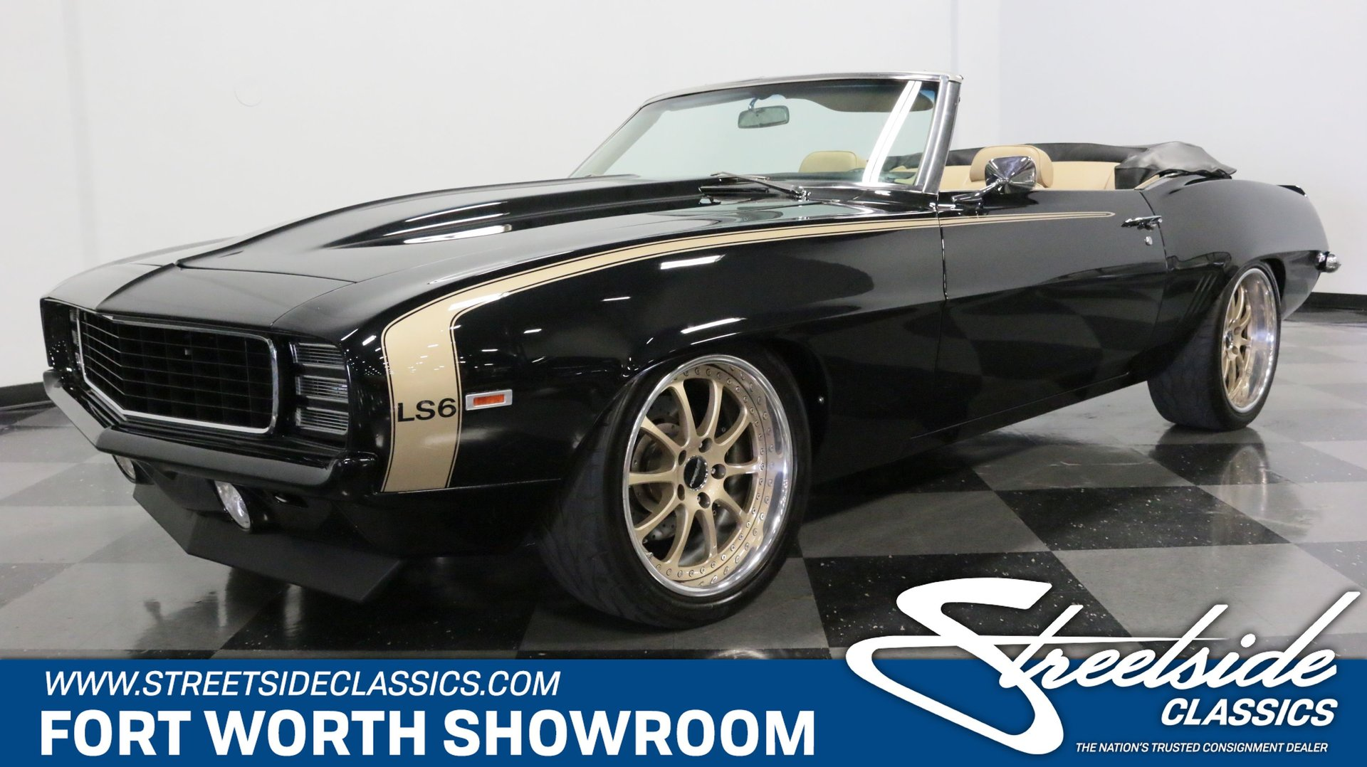 1969 Chevrolet Camaro RS LS6 Pro Touring Convertible for