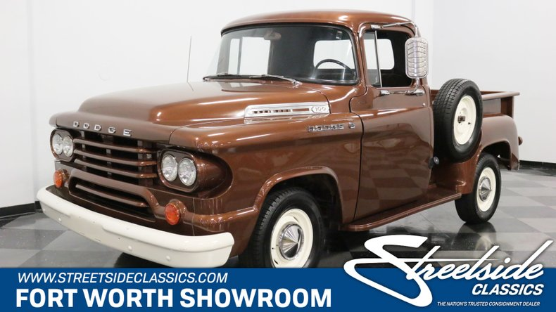 1958 Dodge D100 | Streetside Classics - The Nation's Trusted