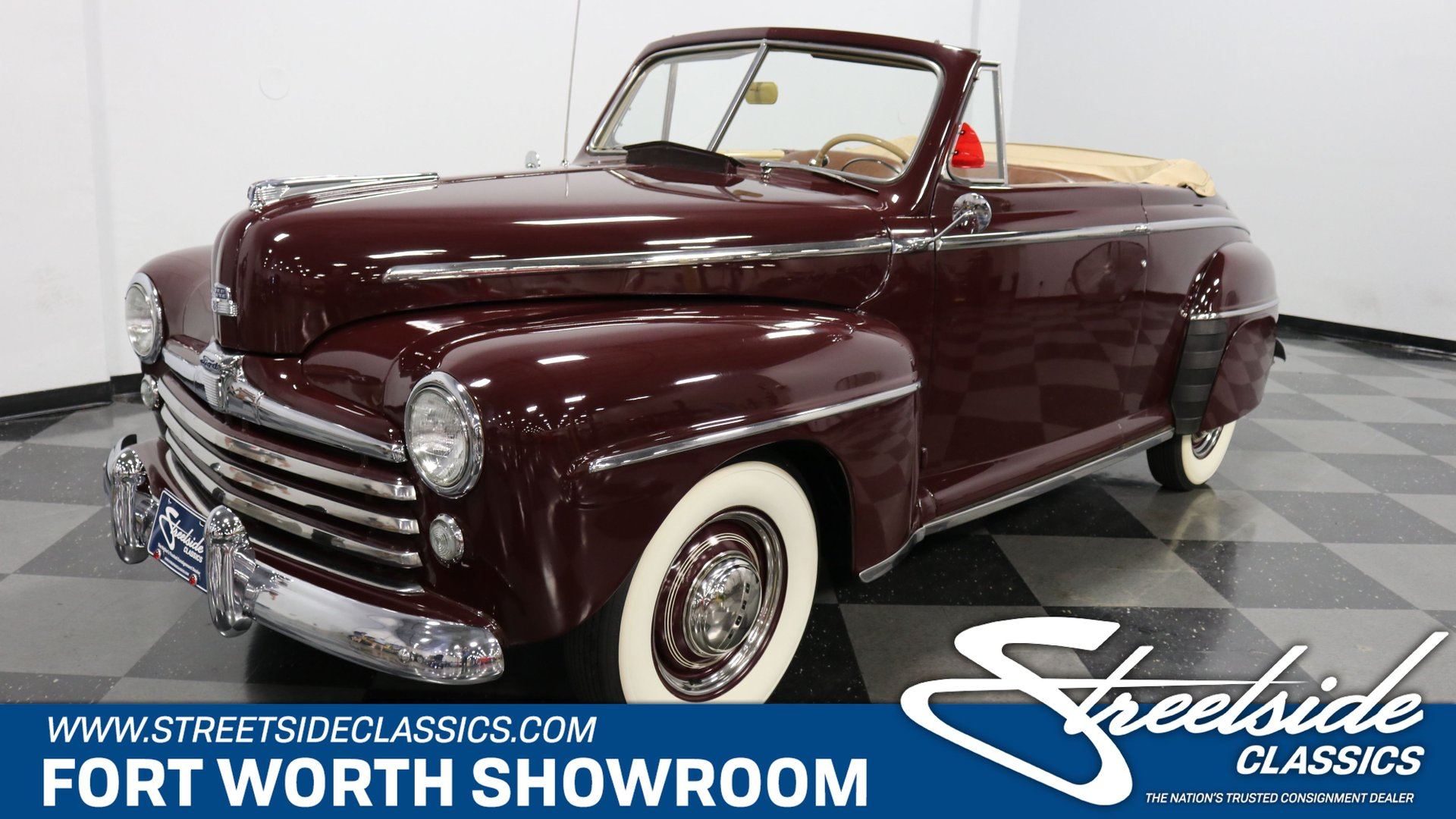1947 Ford Super Deluxe Classic Cars For Sale Streetside Classics The Nation S 1 Consignment Dealer