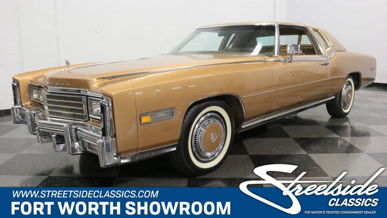 For Sale: 1977 Cadillac Eldorado