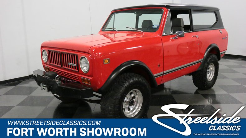 For Sale: 1973 International Scout II