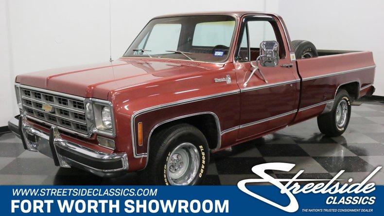 For Sale: 1978 Chevrolet C10