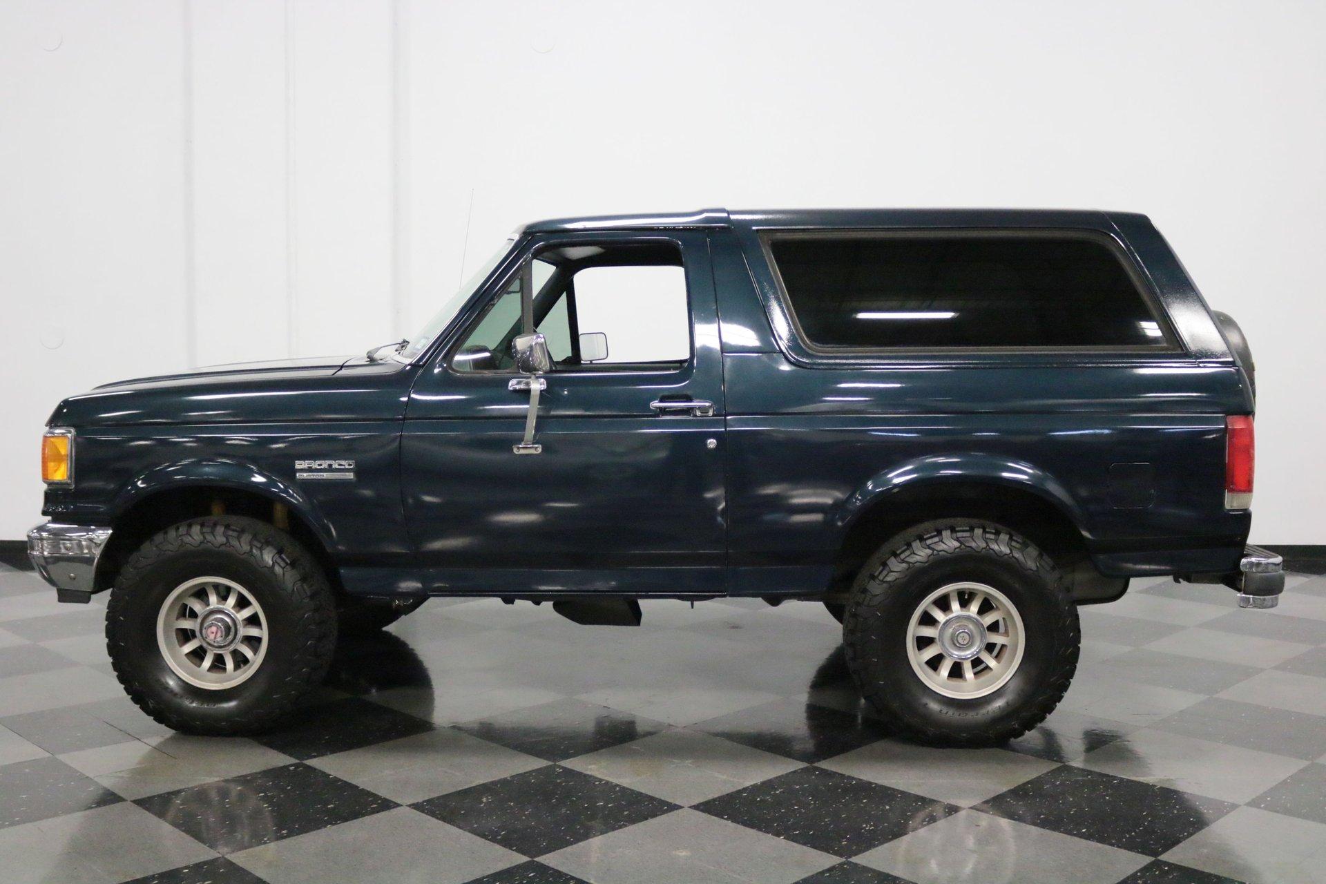 1989 ford bronco 4x4