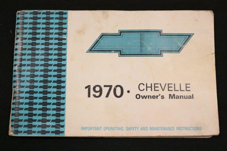 1970 Chevrolet Chevelle 68