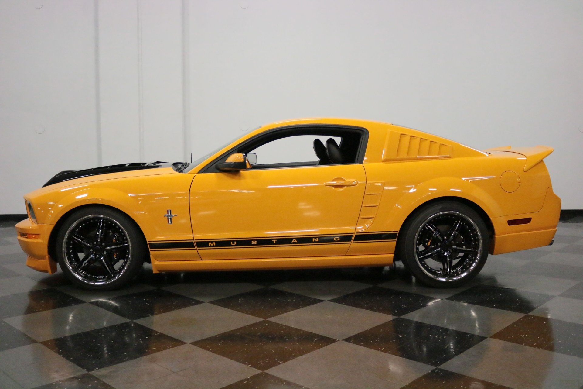 2007 ford mustang twin turbo