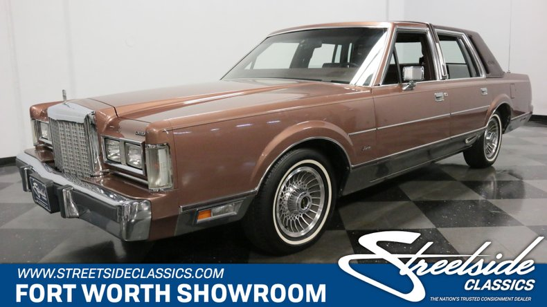 For Sale: 1985 Lincoln Town Car