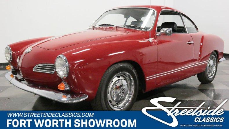 For Sale: 1969 Volkswagen Karmann Ghia