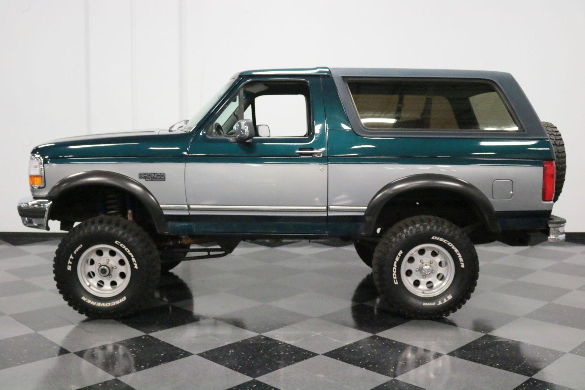 1995 ford bronco xlt 4x4