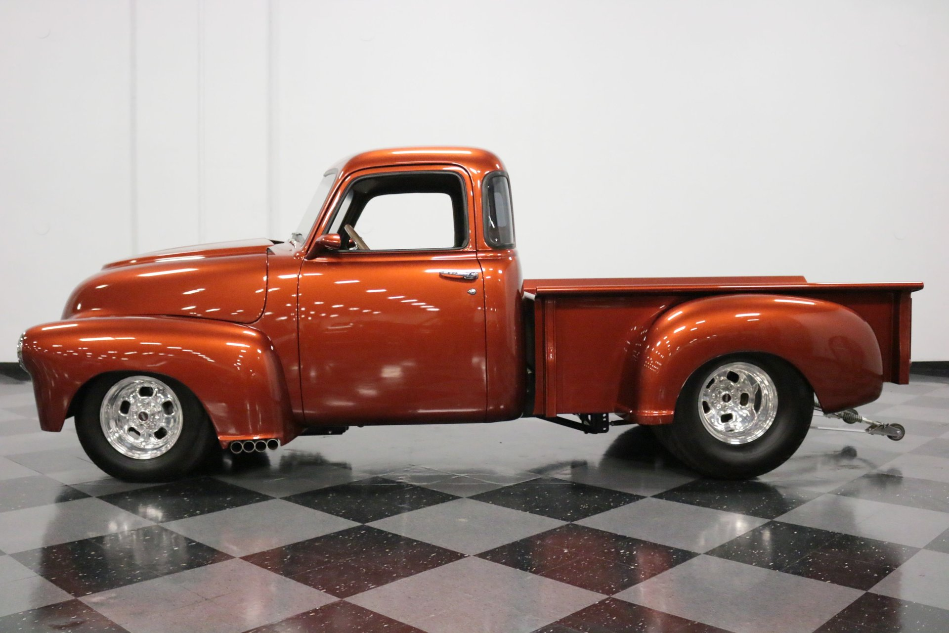 1949 chevrolet 3100 5 window pro street