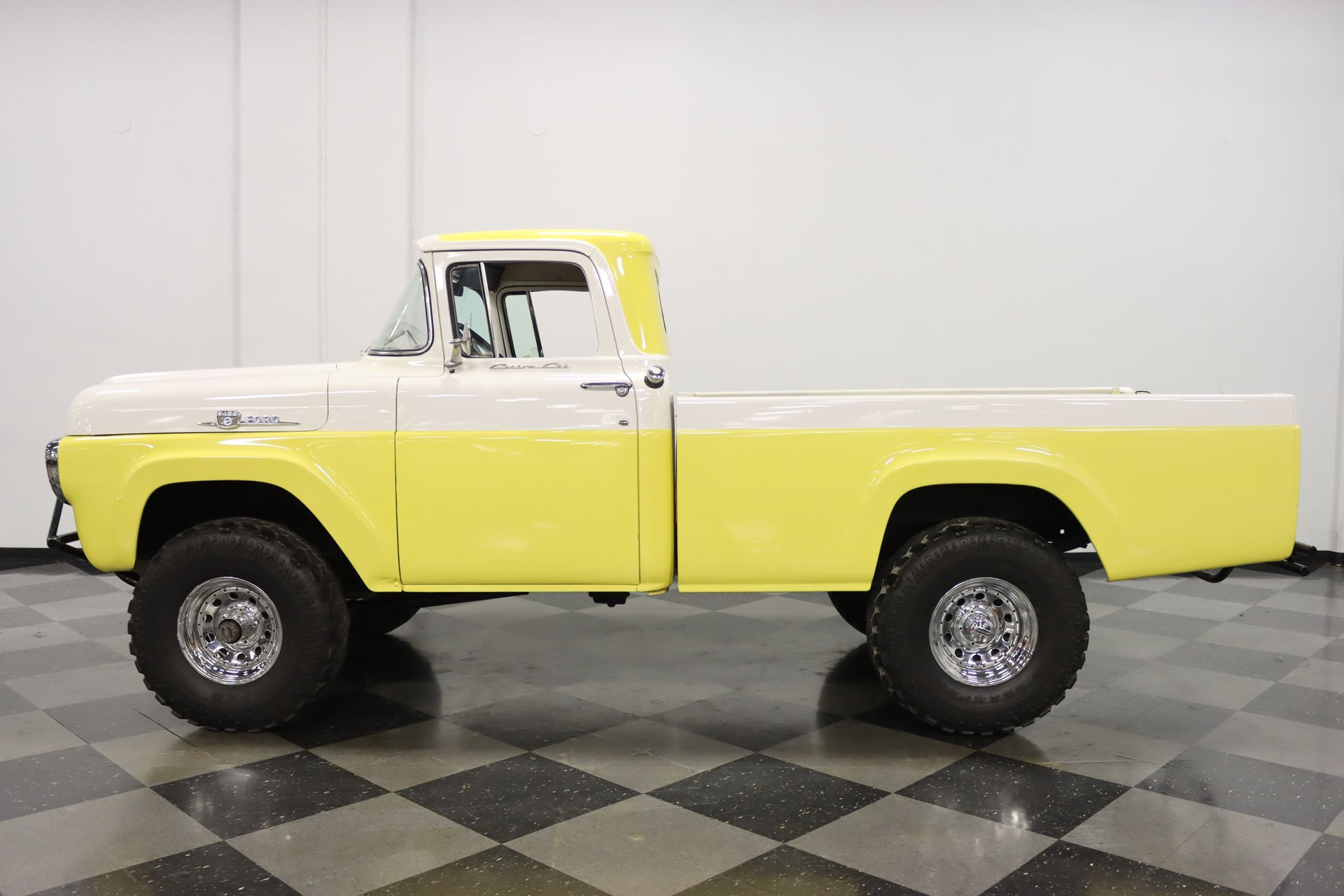 1959 ford f 100 custom cab 4x4