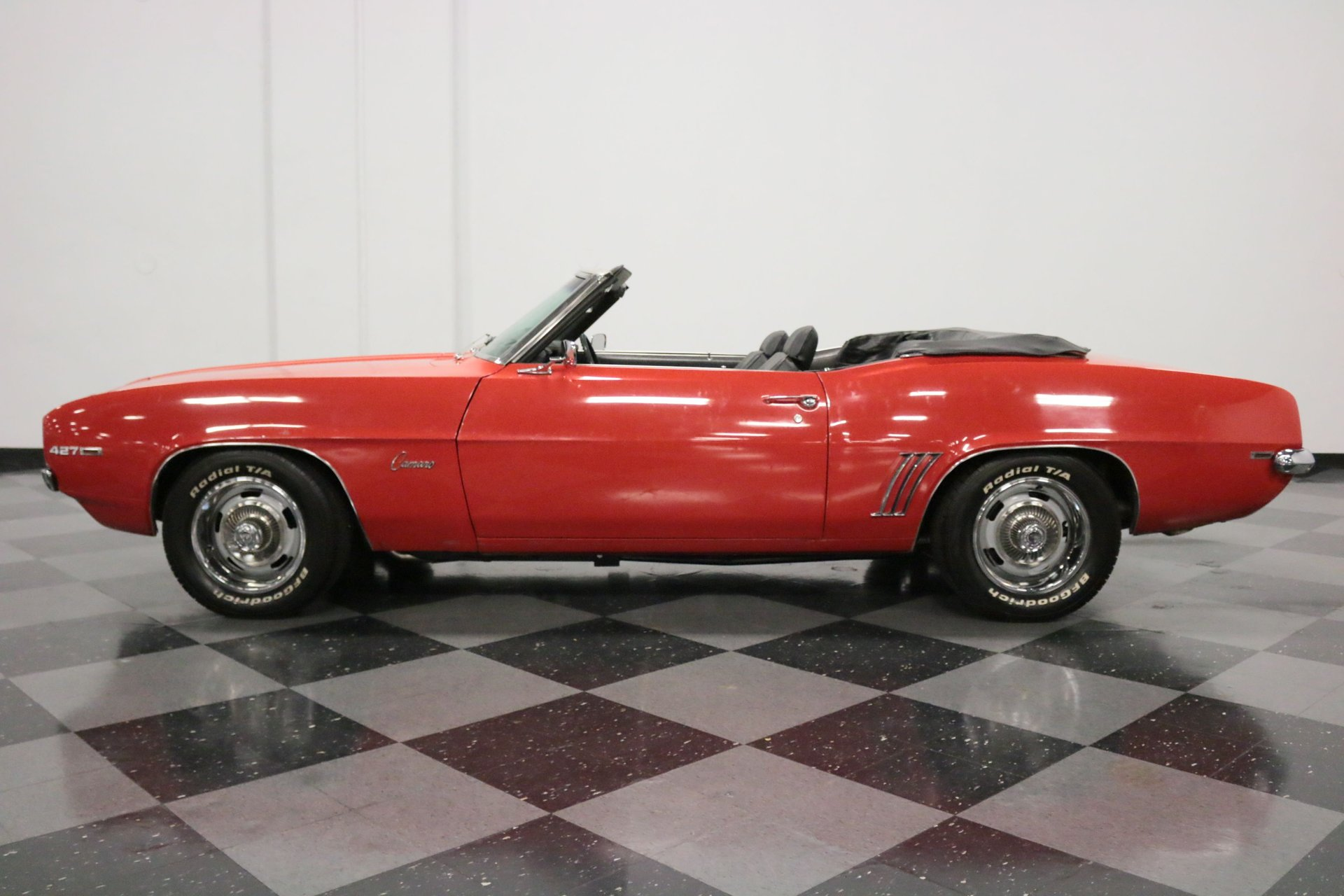 1969 chevrolet camaro convertible restomod