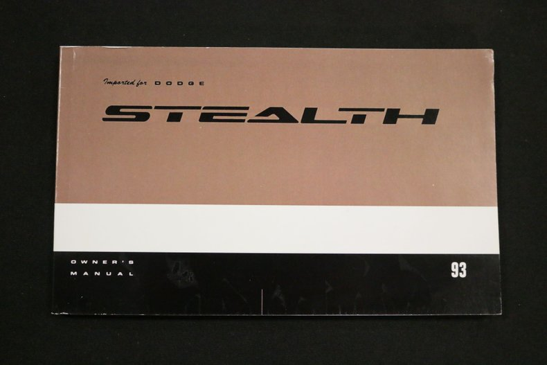 1993 Dodge Stealth 73