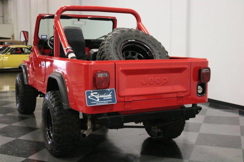 1983 Jeep CJ8 10