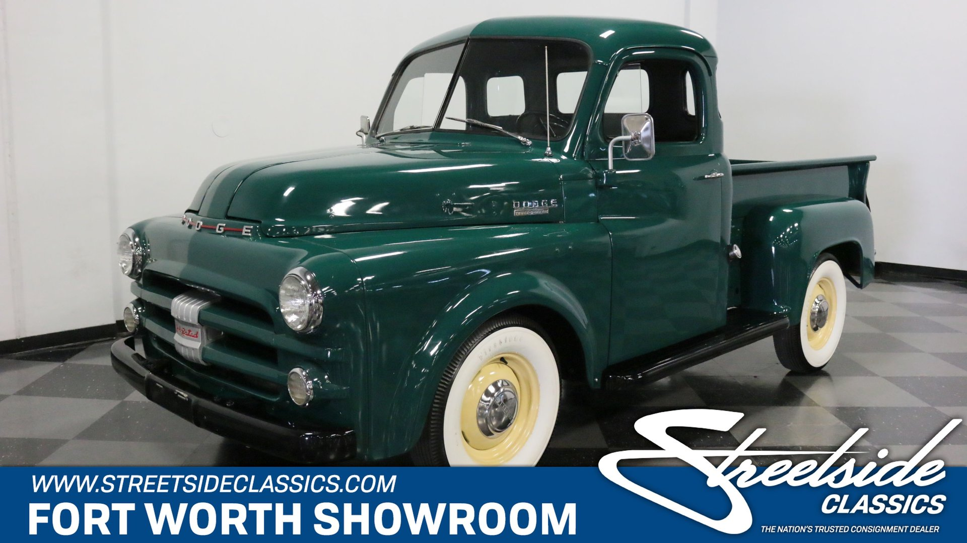 1953 Dodge B Series Truck Classic Cars For Sale Streetside Classics The Nation S 1 Consignment Dealer