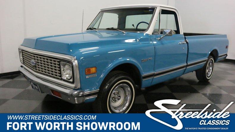 For Sale: 1972 Chevrolet C10