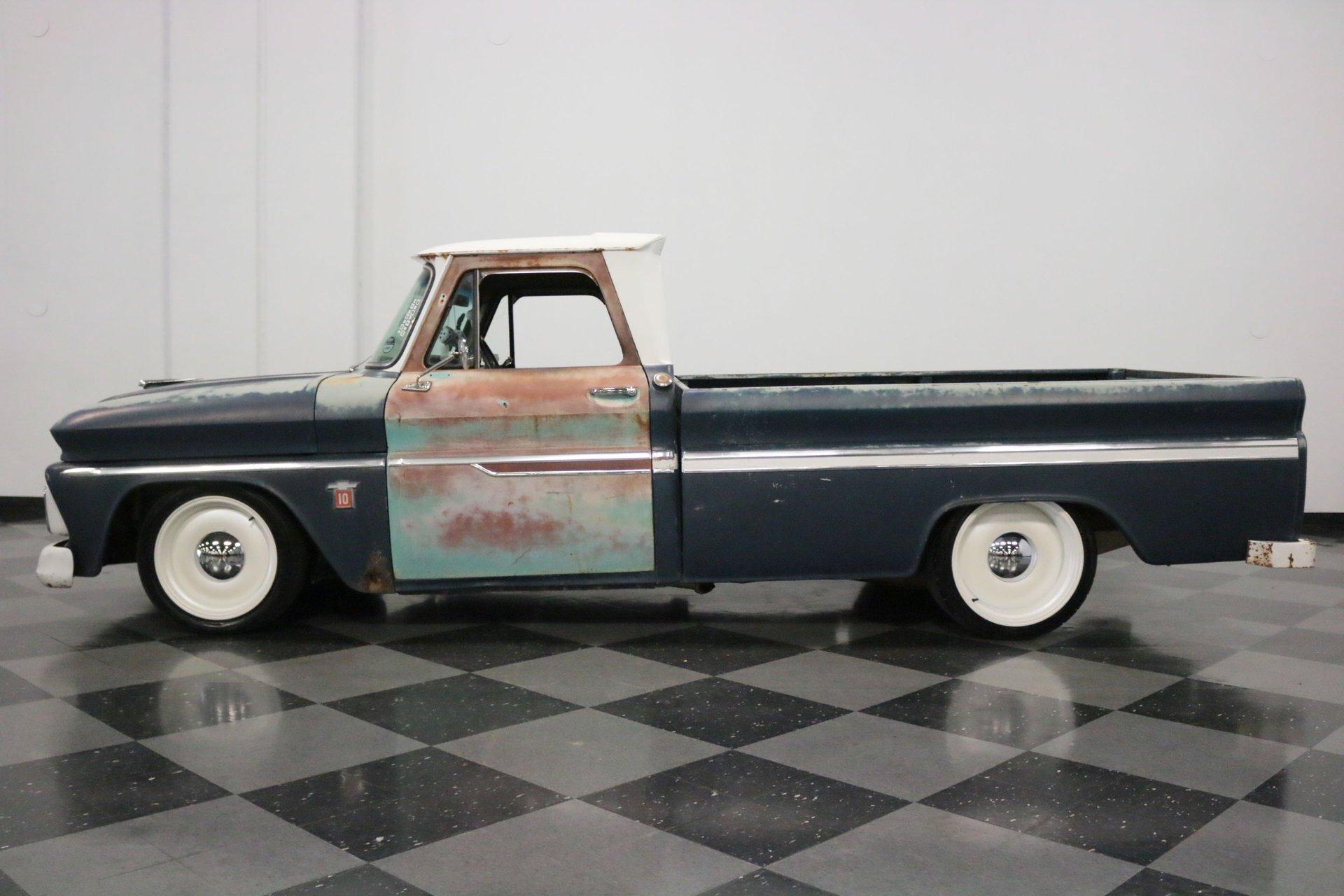 1964 chevrolet c10 patina restomod