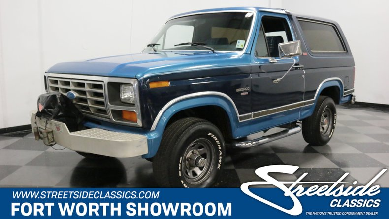 For Sale: 1982 Ford Bronco